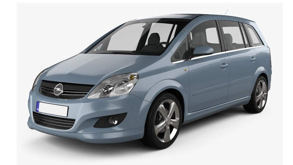 Redukční rámečky k autorádiím pro Opel Zafira B