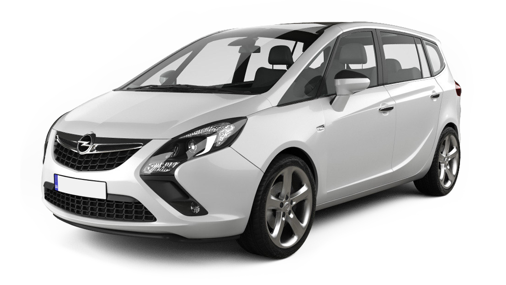 Redukční rámečky k autorádiím pro Opel Zafira Tourer
