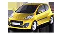 Repro podložky MDF pro vozy Peugeot 107