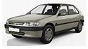 Repro podložky MDF pro vozy Peugeot 306