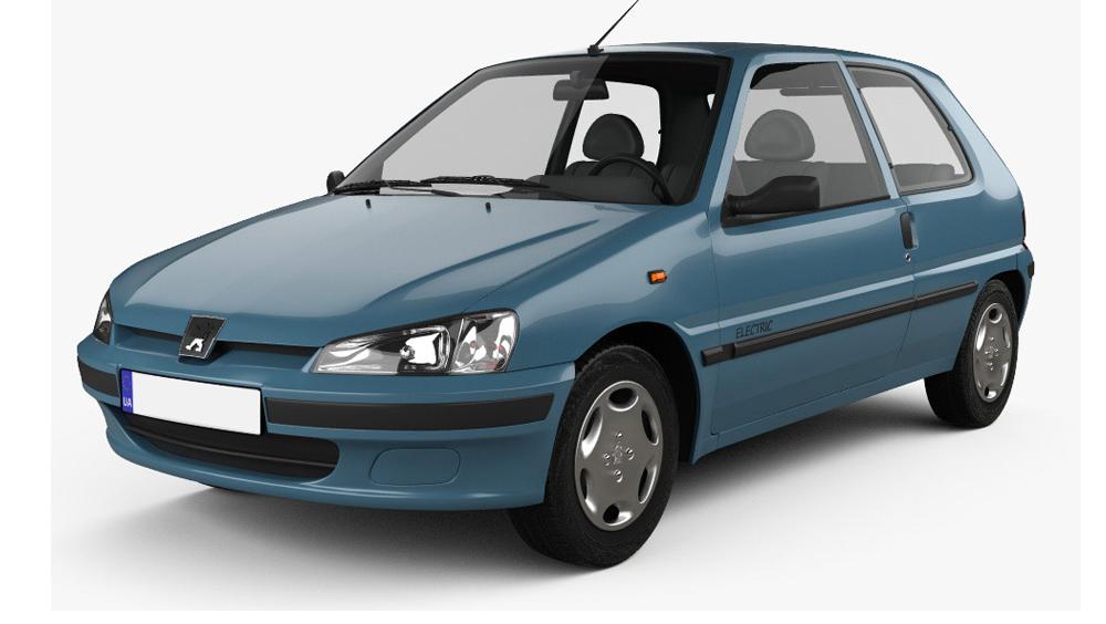 Redukční rámečky pro vozy Peugeot 106