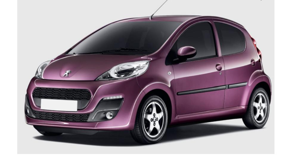 Redukční rámečky k autorádiím pro Peugeot 107