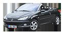 Redukční rámečky k autorádiím pro Peugeot 206 CC