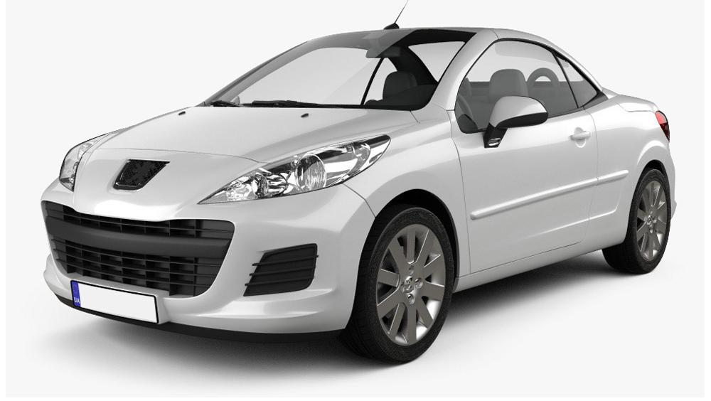 Redukční rámečky k autorádiím pro Peugeot 207 CC