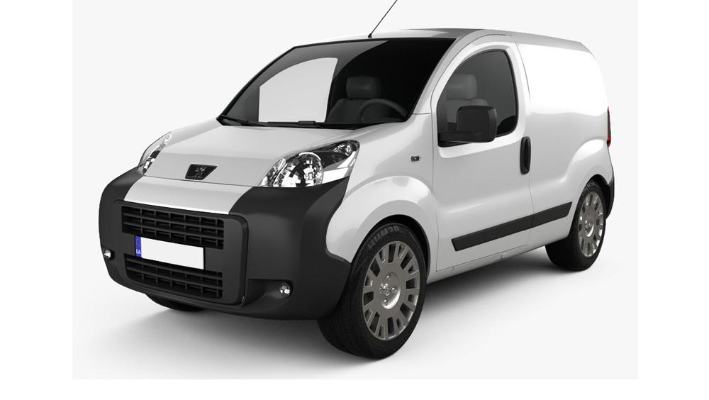 Redukční rámečky k autorádiím pro Peugeot Bipper