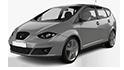 Mdf podložky pod reproduktory do Seat Altea XL