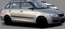 Škoda Fabia II combi