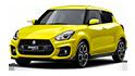 Redukční rámečky k autorádiím pro Suzuki Swift Sport