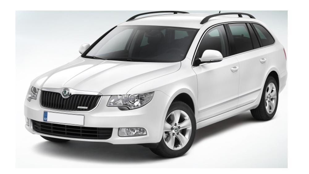 Redukční rámečky k autorádiím pro Škoda Superb II