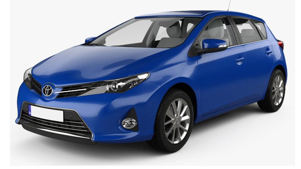 Redukční rámečky k autorádiím pro Toyota Auris II