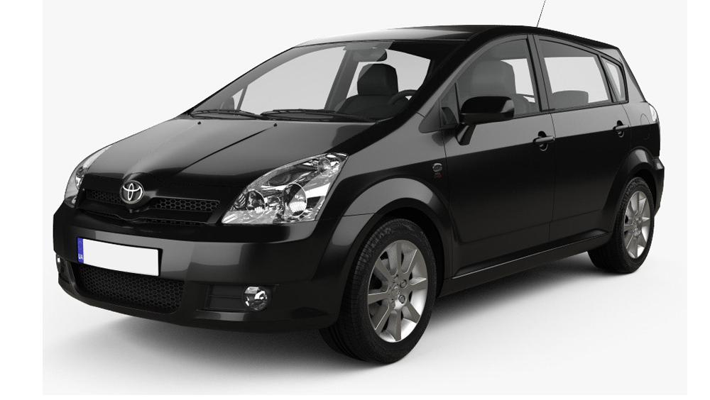 Redukční rámečky k autorádiím pro Toyota Corolla Verso