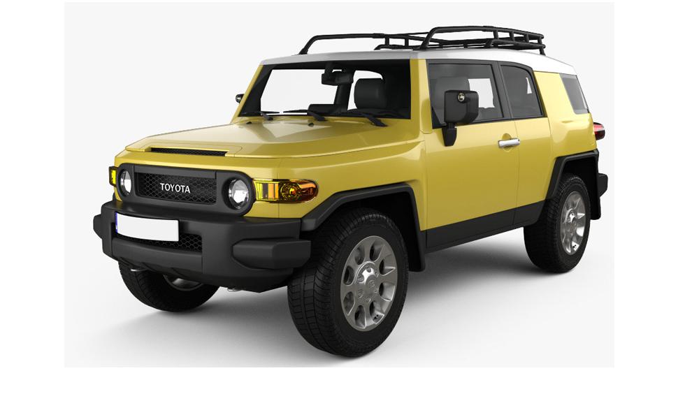 Redukční rámečky k autorádiím pro Toyota FJ Cruiser