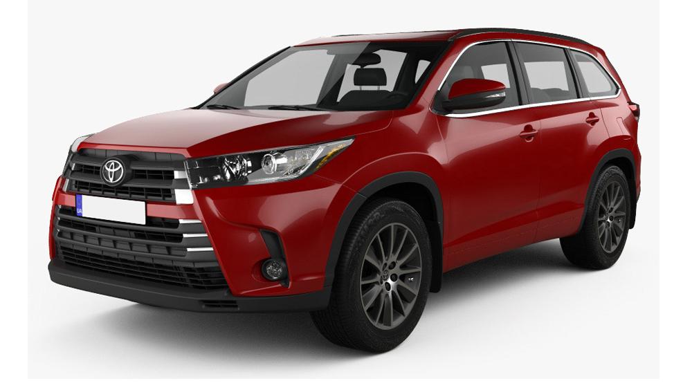 Redukční rámečky k autorádiím pro Toyota Highlander
