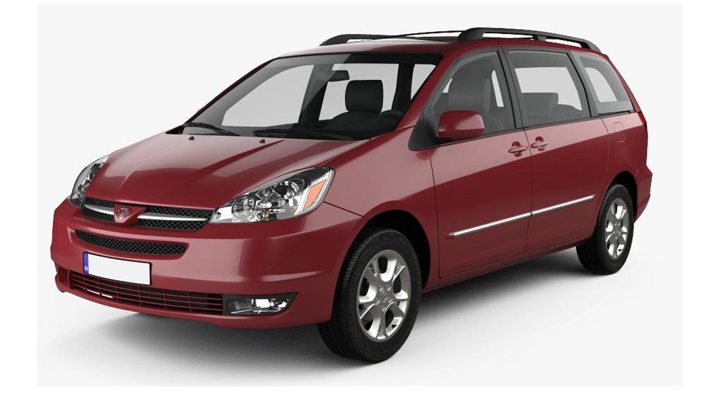 Redukční rámečky k autorádiím pro Toyota Sienna