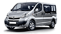 Redukční rámečky k autorádiím pro Opel Vivaro I