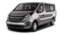 Redukční rámečky k autorádiím pro Opel Vivaro II
