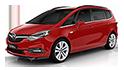 Redukční rámečky k autorádiím pro Opel Zafira SW