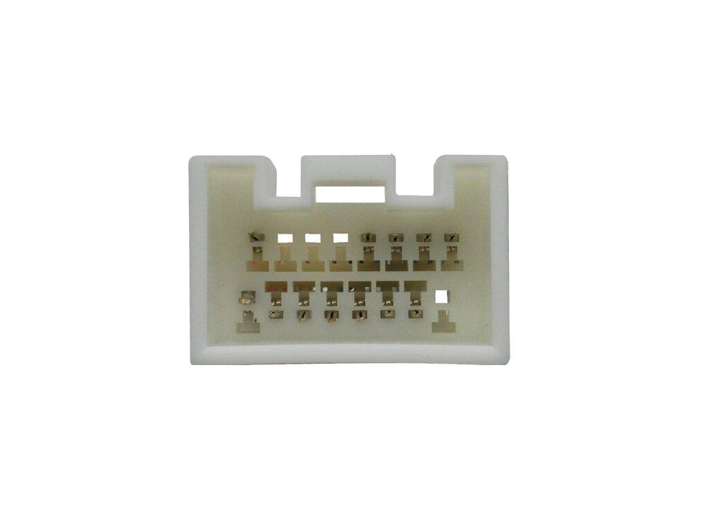 ISO adaptér pro autorádia Ford / Lincoln / Mazda / Mercury / Nissan