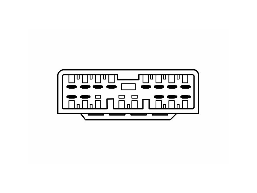 ISO adaptér pro Honda