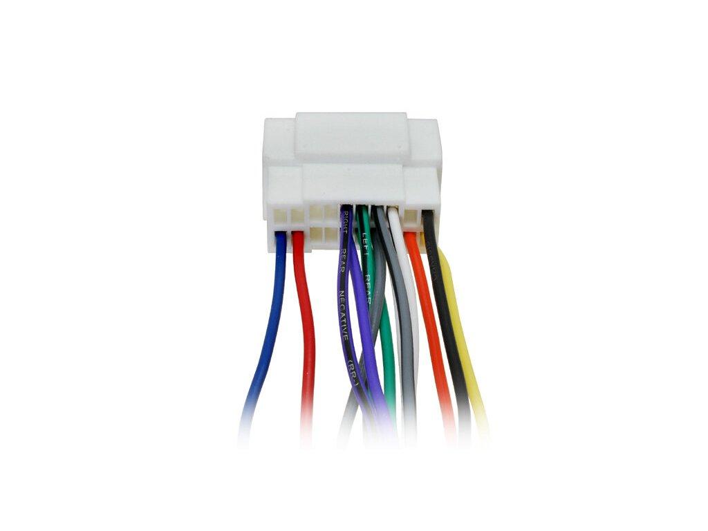 ISO adaptér pro Honda / Suzuki / Acura / Fiat / Nissan / Opel