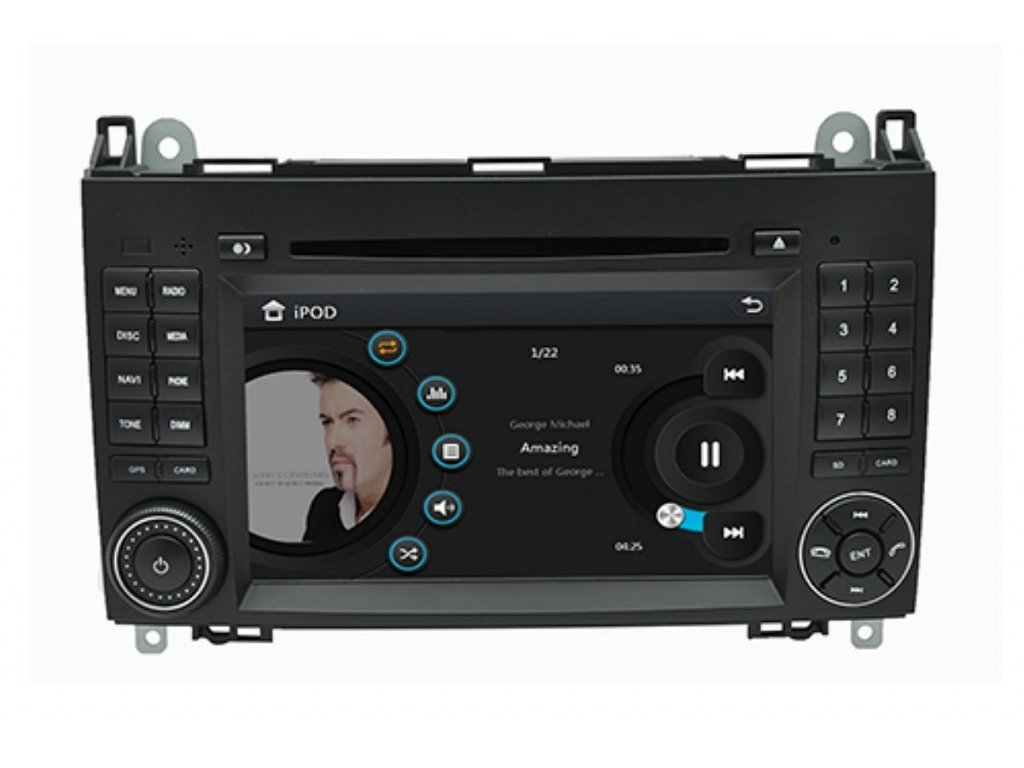 101686 5 autoradio geborn gb8847
