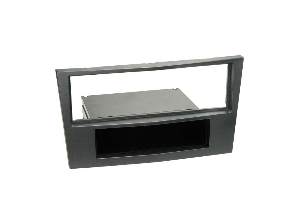 Rámeček autorádia OPEL Astra / Zafira - tmavě stříbrná barva