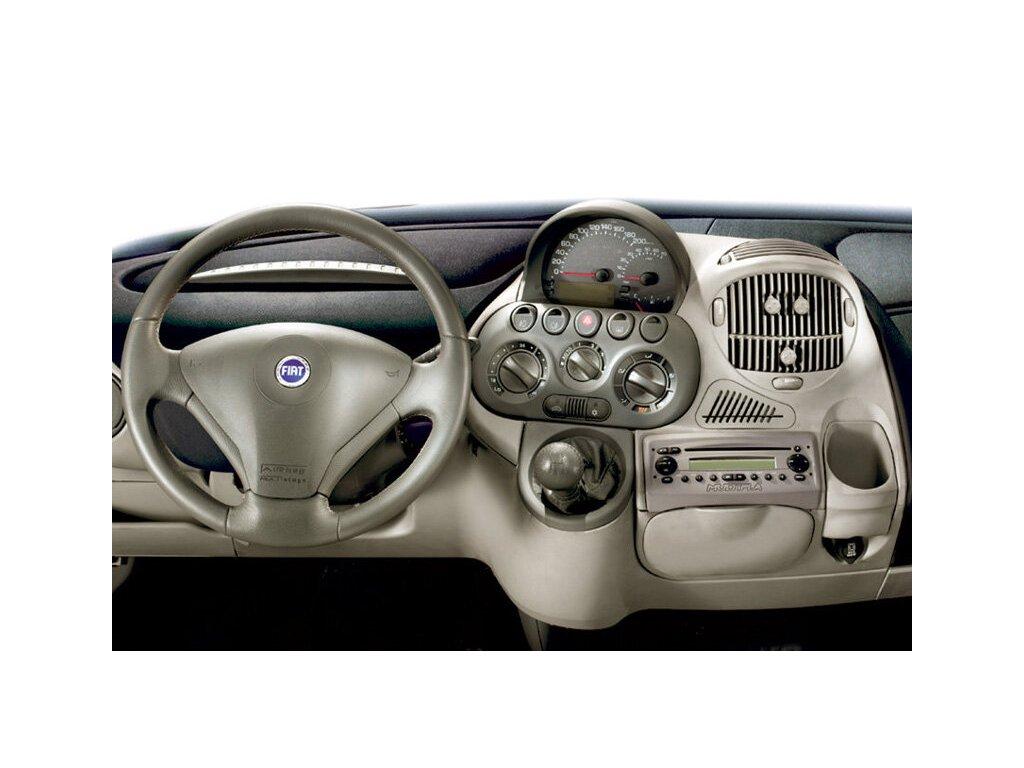 Rámeček autorádia 1DIN - Fiat Multipla UNI2