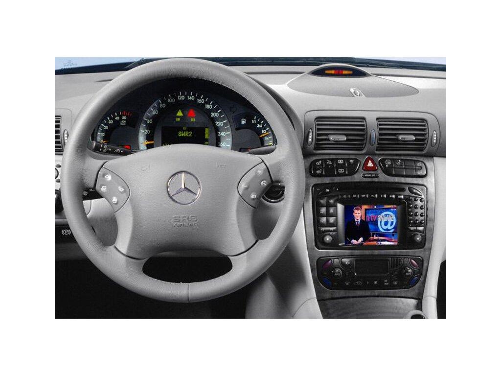 Rámeček autorádia 2DIN - Mercedes C-Class, CLK, Viano, Vito UNI2