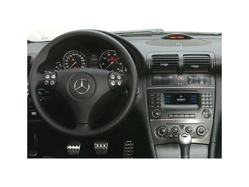 Rámeček autorádia 2DIN - Mercedes SLR, C-class UNI2