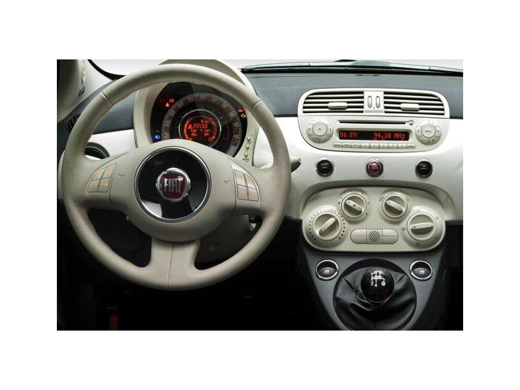 Rámeček autorádia 1DIN - Fiat 500 UNI2