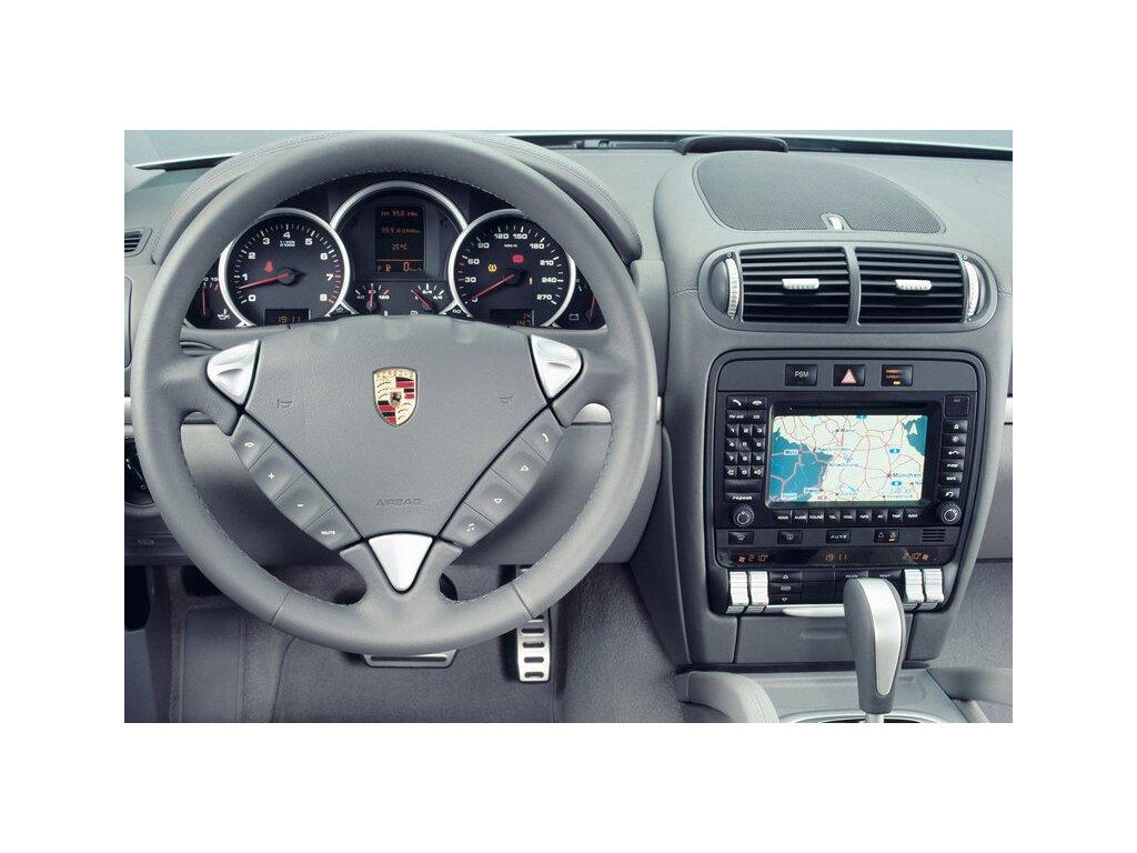 Rámeček autorádia 2DIN - Porsche Cayenne UNI2