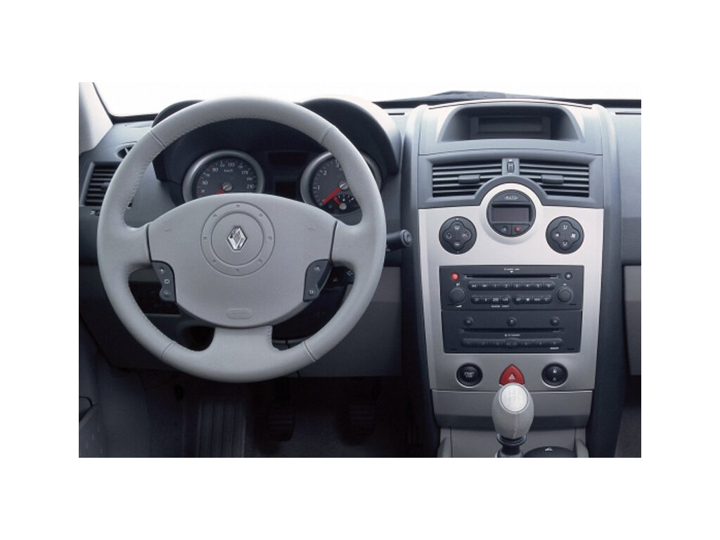 Rámeček autorádia 1DIN / 2DIN - Renault Megane II UNI2