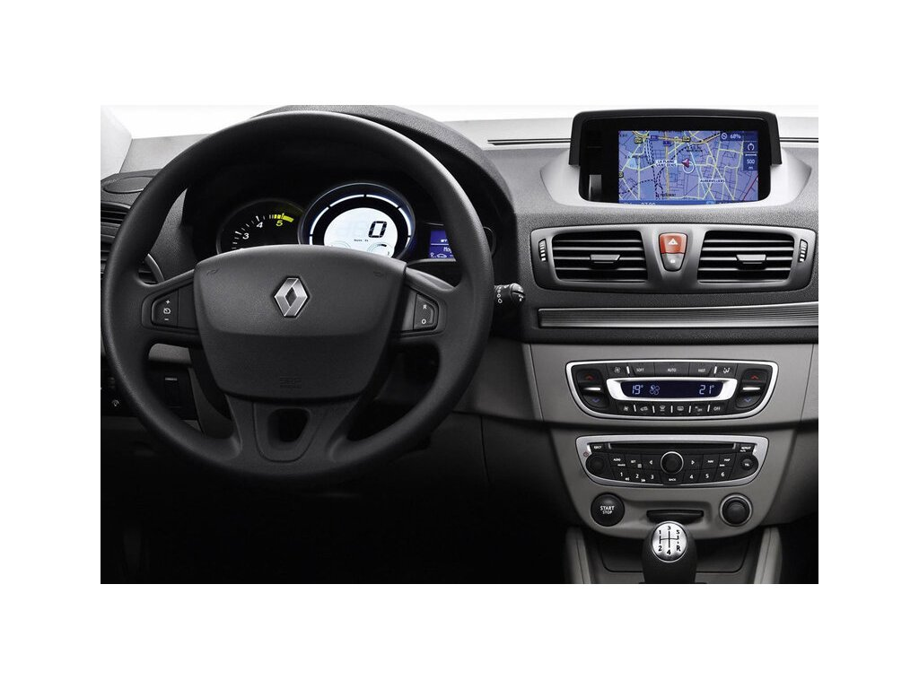 Rámeček autorádia 1DIN - Renault Megane III UNI2