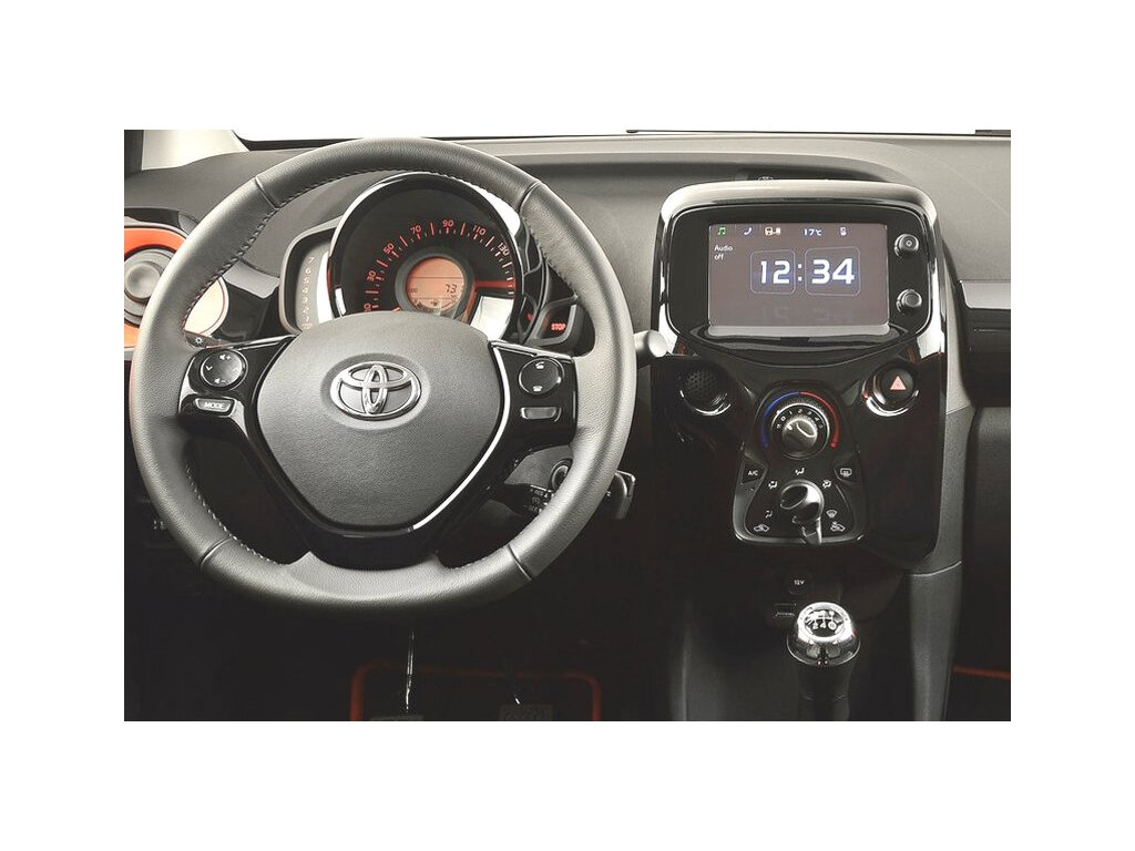 Rámeček autorádia 2DIN - Citroën C1 / Peugeot 108 / Toyota Aygo