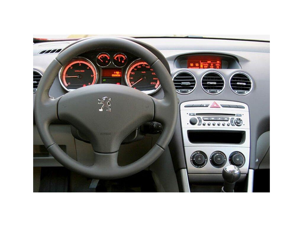 Rámeček autorádia 1DIN / 2DIN - Peugeot 308