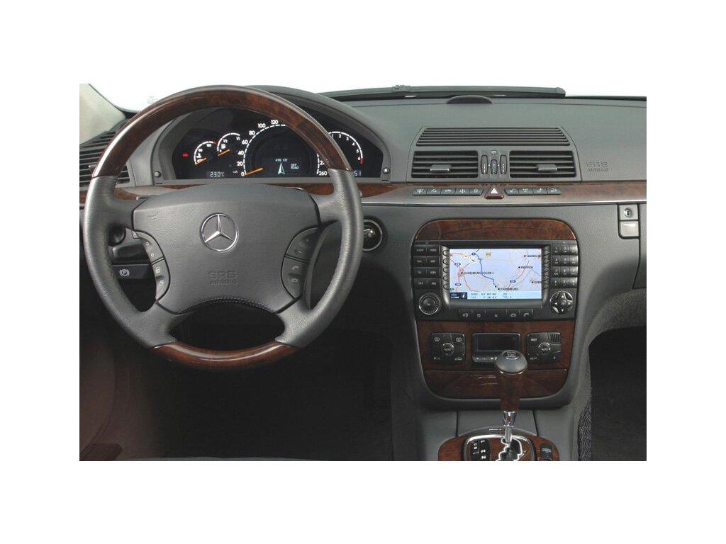 Rámeček autorádia 2DIN - Mercedes S-Class UNI2