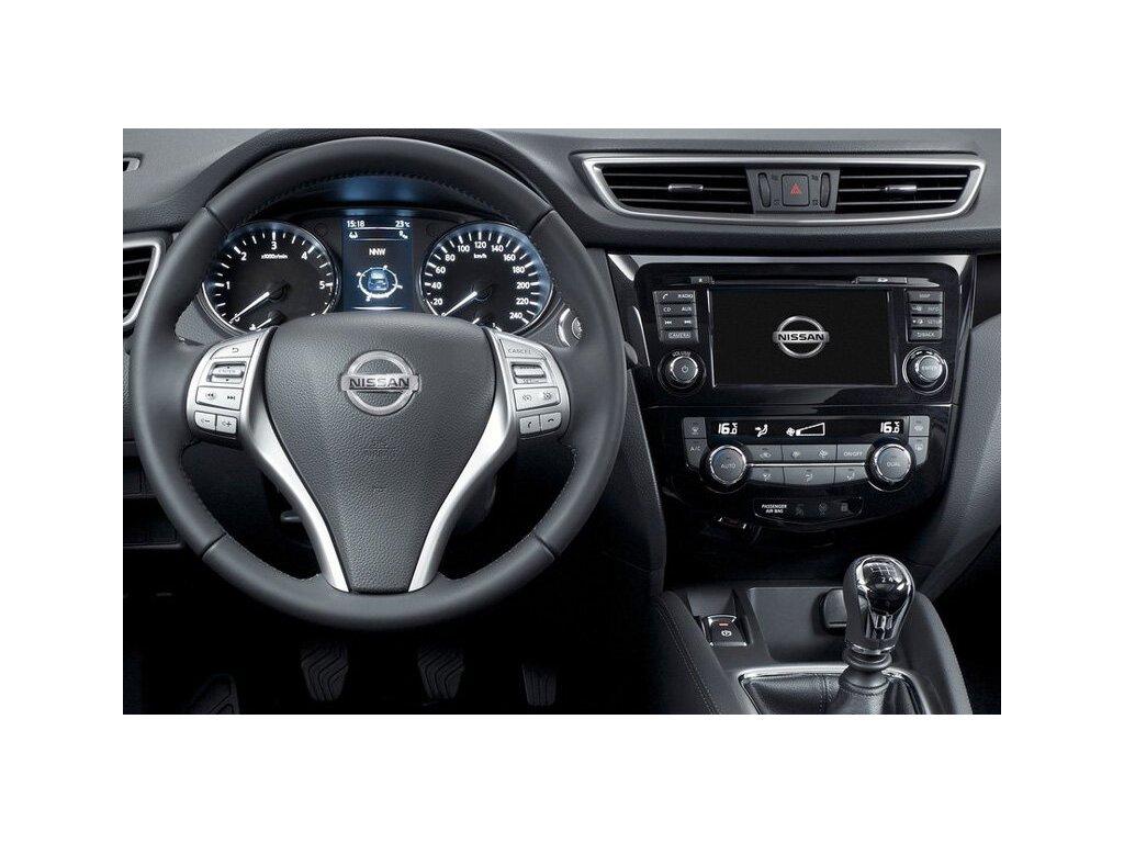 Rámeček autorádia 2DIN - Nissan Qashqai (modely Acenta)