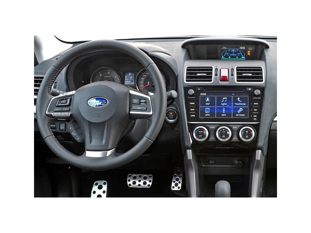 Rámeček autorádia 2DIN - Subaru Levorg