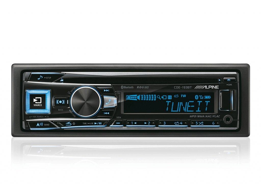 103522 autoradio alpine cde 193bt