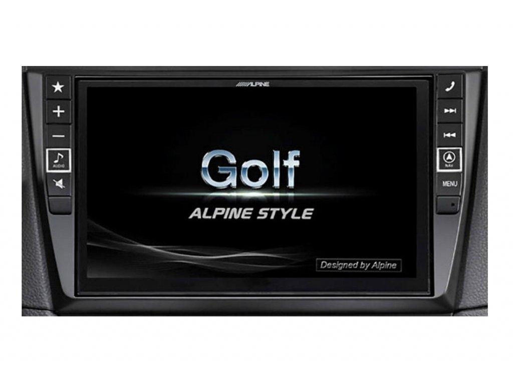105865 navigacni system alpine pro vw golf 6