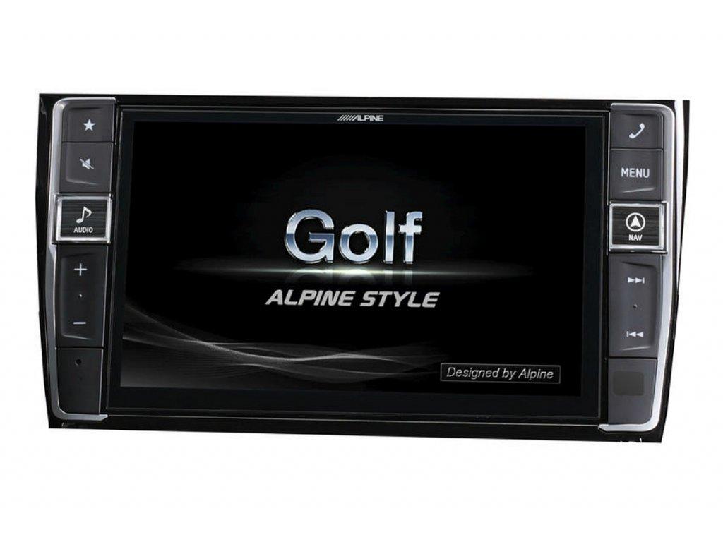 105868 navigacni system alpine pro vw golf 7