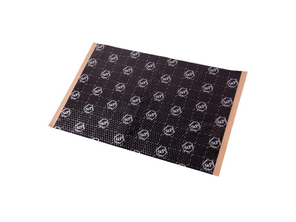 0079150 stp black silver antivibracni a tlumici material 50 x 75 cm
