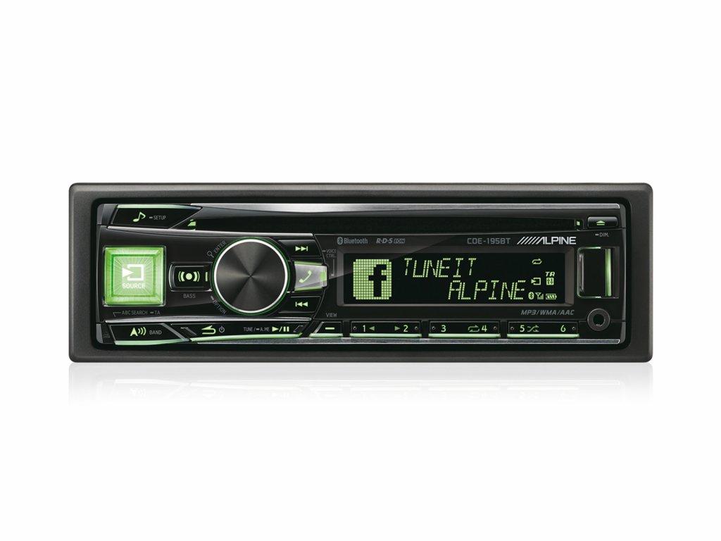 115320 autoradio alpine cde 195bt