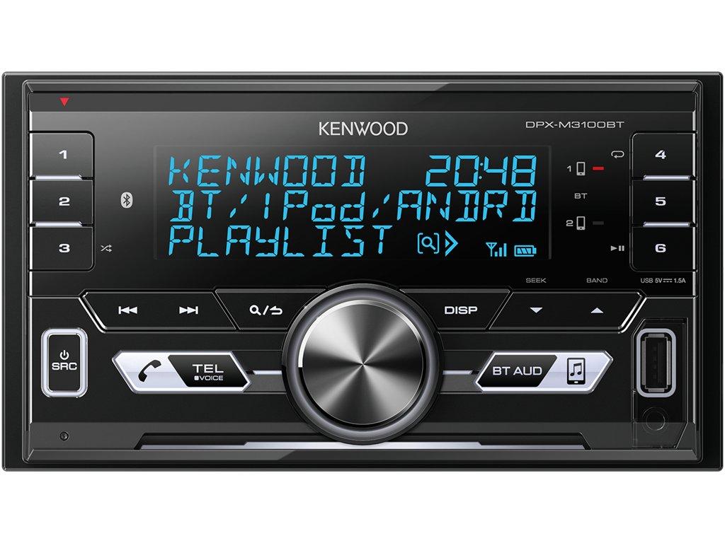 116172 autoradio kenwood dpx m3100bt