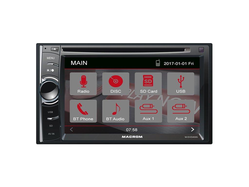 117099 autoradio macrom m dvd4000