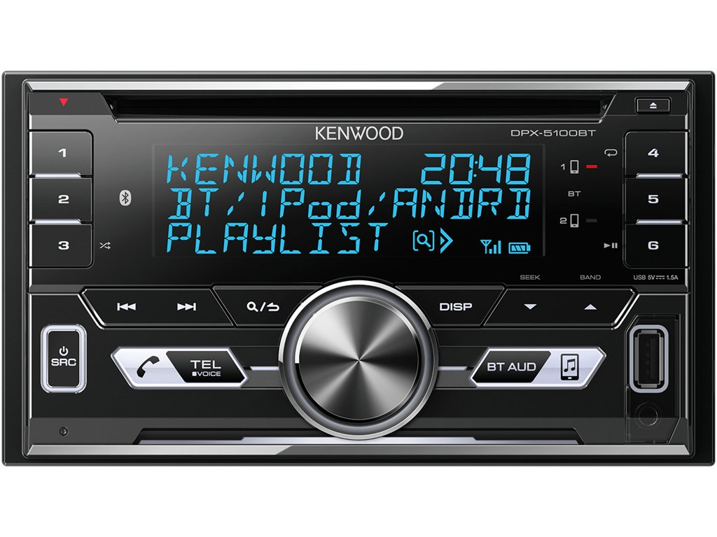 117237 autoradio kenwood dpx 5100bt