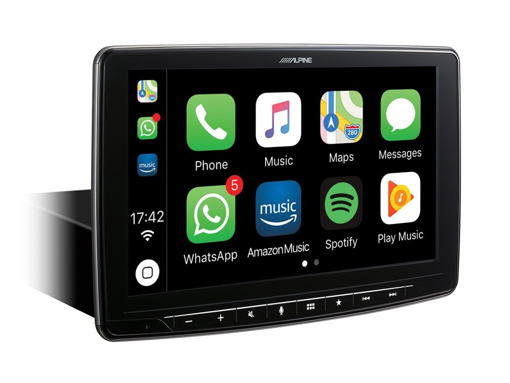 Works with Apple CarPlay iLX F903D