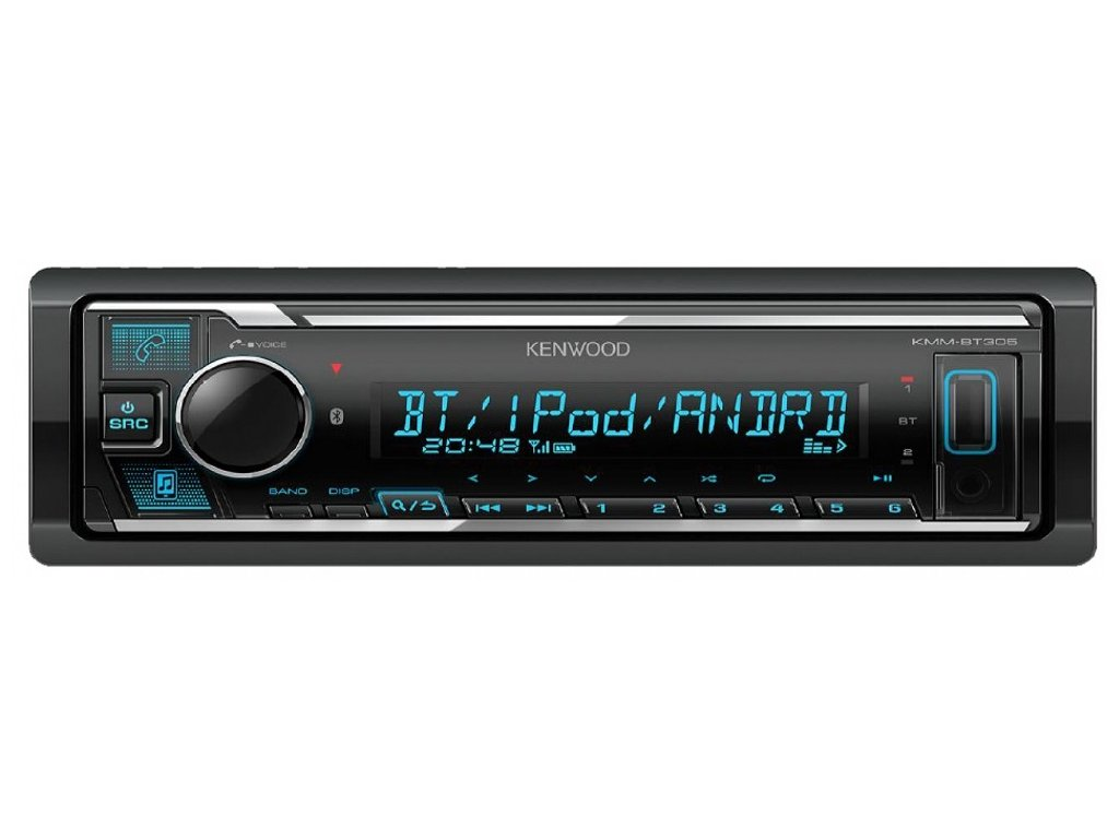 126290 autoradio kenwood kmm bt305