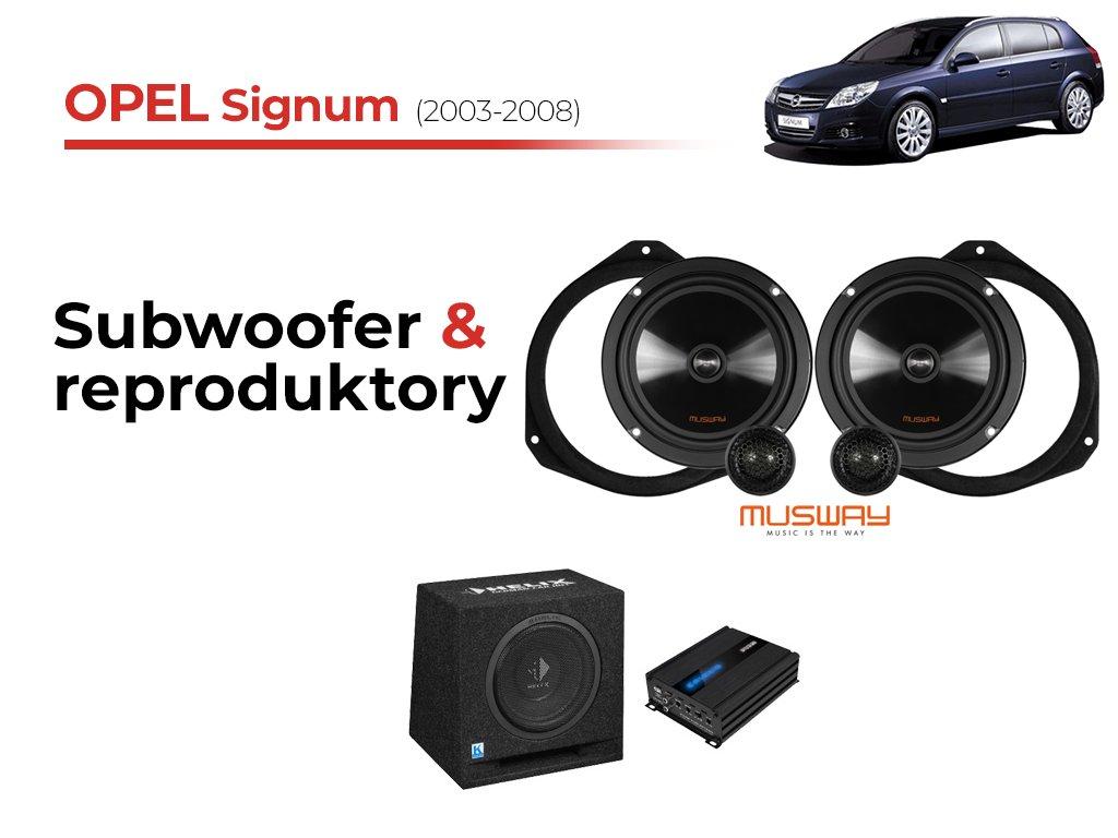 Opel Signum msw komplet