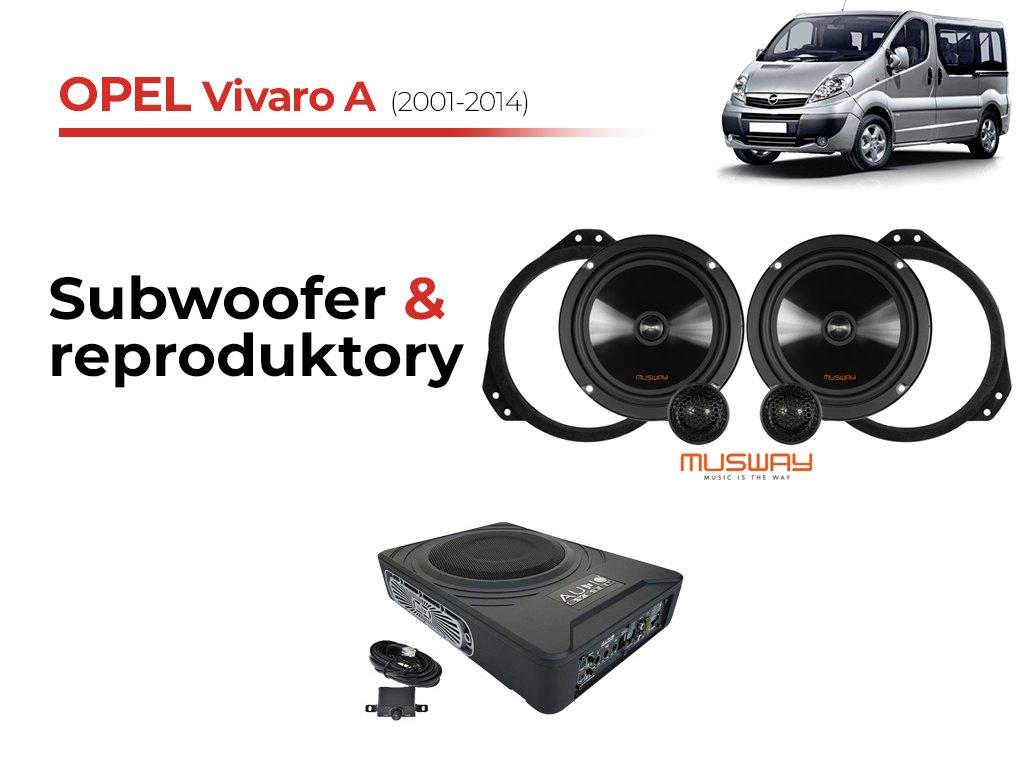 Opel Vivaro A msw komplet
